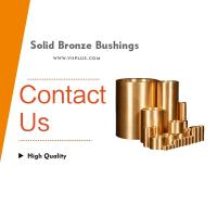 Best sintered self-lubrication graphite impregnated flanged oilite bronze bushings wholesale