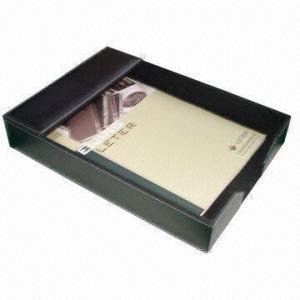 Best Multi-functional Desktop Stationery Gift Set Made of Imitation Leather wholesale