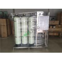 Best SS Reverse Osmosis Water Purification Equipment With Active Carbon And Quartz Sand wholesale