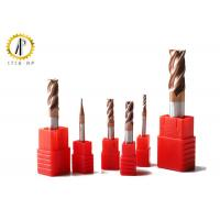 Buy cheap High Quality Square Carbide Endmill HRC50 CNC Milling Cutter For Hardened Steel from wholesalers