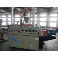 Best Pipe Production Equipment Plastic Pipe Extrusion Line Dual PVC Pipe Extrusion Machine wholesale