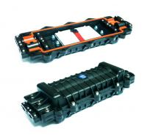 Best Splice Inline 4 Port Fiber Joint Enclosure Box IP Rated 96 Fibre PC Material wholesale