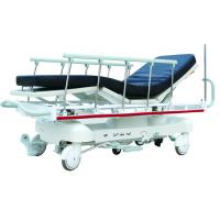 Cheap Patient Transport Stretcher With 150kgs , CPR Handle , Rise - And - Fall Guide Wheels for sale