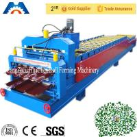 Best 440V Customized Roof Profile Double Layer Roll Forming Machine For Roof CE wholesale