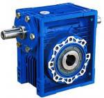Best 75:1 Ratio High Efficiency / Torque NRV Series Worm Gear Reduction Box 1400Rpm wholesale