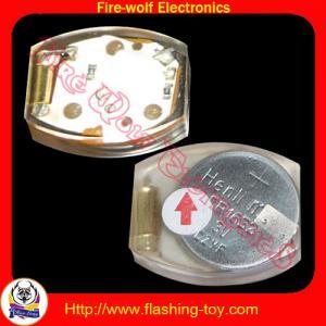 Best eco-friendly PVC Decorative Shoes, cloth, Bag color flashing Led shoe light wholesale