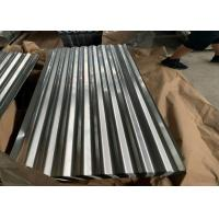 Best AS 1397 G550 (HRB≥85) , ASTM A653 Zinc Hot Dipped Galvanized Corrugated Roofing Sheet wholesale