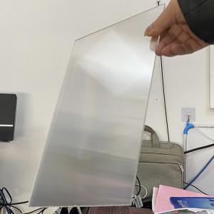 Best 3D lenticular lens 20 LPI UV large format lenticular sheet thickness 3 mm designed for flip effect on digital printer wholesale