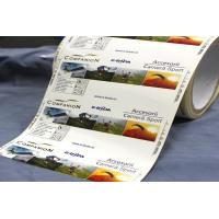 Cheap Full Printing Custom Label Stickers Label Packaging Matte Lamination for sale