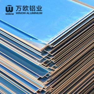 Best Metal Alloy Flat Aluminum Plate 600 - 2280mm Width High Strength For Construction wholesale