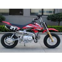 China Red Dirt Bike Motorcycle Automatic Transmission 50cc Mini Cool Dirt Bikes on sale