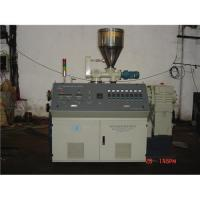 China Conic twin screw extruder on sale