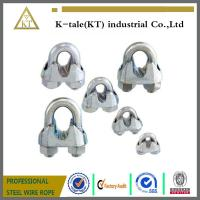 China 2016 Rigging Hardware DIN741 Malleable Steel Wire Rope Clip on sale