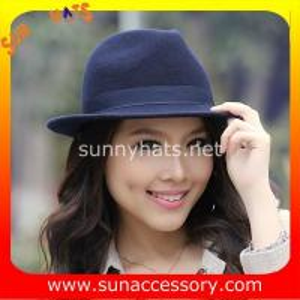 Best 4190369 Sun Accessory customized  winner  England style fashion wool felt fedora  hats,unisex hats and caps wholesaling wholesale