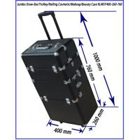 Best aluminum Rolling Beautitician Case with folder drawers KLMSY400-260-760 wholesale