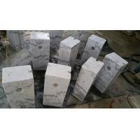 Best Guangxi White Marble Car Packing Stone China Carrara White Marble Packing Barriers wholesale