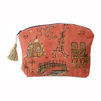 China Hot Sale Nylon cosmetic bag with mirror on sale