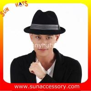 Best 4190379 Sun Accessory customized  winner  fashion wool felt fedora  hats,unisex hats and caps wholesaling wholesale