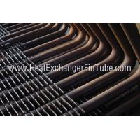 Buy cheap DIN 17175 ST35.8 / I  SMLS Carbon Steel Square H Fin Tubing with 90° Bends product