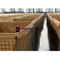 Best Sand Wall Welded Mesh Defensive Barrier Container Units Customized Colors wholesale