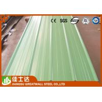 Best Pre Painted Zinc Metal Corrugated Roofing Sheets Waterproof 0.23 - 1.2mm Thickness wholesale