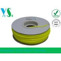 Best ABS 3D Printer Filament 1.75mm with Yellow Color For Paper Spool wholesale
