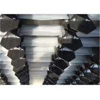 Powder Painted Black Welded Security Steel Fence Iron Fence Panel