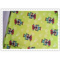 China Flannel Pajamas Sets Cotton Flannel Cloth Duster Fabric Shrink - Resistant on sale