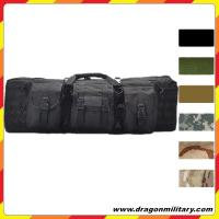 OEM high quality 36 inch double tactical rifle case with molle gear
