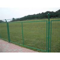 China Green Powder Coated Wire Mesh Fencing , Galvanized Wire Fence For Residential Area on sale