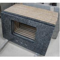 Best Blue Pearl Solid Granite Worktops Apartment / Hotel Renovation Suit wholesale