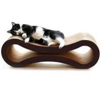 Best Glossy Film Lamination Cardboard Cat Scratcher / Beds With Custom Logo Printed wholesale