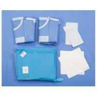 China Custom Disposable Surgical Packs TUR Urology Disposable Patient Drapes Surgical Gown on sale