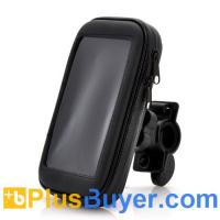 China 360 Degree Rotating Bicycle Mount + Soft Case For Samsung Galaxy S4 on sale