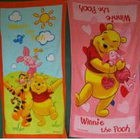 China 100% cotton Reactive printed Beach towel for kids on sale