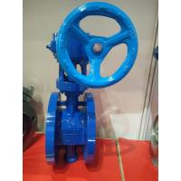 Buy cheap Worm Gear Double Flanged Ductile Iron Eccentric Butterfly Valve from wholesalers