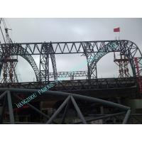 Customized Prefabricated Pipe Metal Truss Buildings Grandstands And Sports Stadiums