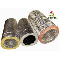 Best Supply Ventilation 4'' - 20''  air conditioning flexible  insulated duct wholesale