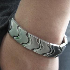 Best Fashion negative ion energy bracelet, titanium germanium energy bracelet wholesale