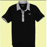 China Breathable Cotton POLO T Shirts For Men American Style / Embroidering Logo Available on sale