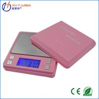 Best Pink 0.01 x 500g100g/0.01g Digital Ashtray Pocket Scale Jewelry Gold Diamond Weighing Scales wholesale