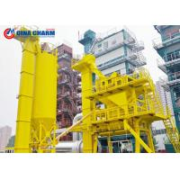 Cheap 40 - 320th Asphalt Mixing Plant 4 Cold Aggregate 45S Mixing Cycle Heavy / Light Oil for sale