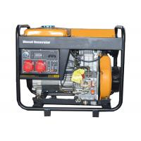 Best 3 Phase 5000W Portable Small Portable Generators Open Type Hand Start wholesale