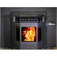 China ECO Friendly Wood Pellet Fireplace Gas Fireplace Stove For Home Easy Cleaning on sale