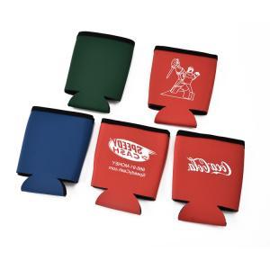 Best Custom logo sublimation printed neoprene can cooler,6.5x10H cm,custom color wholesale