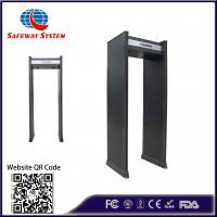Best 18 Zones Walk Through Metal Detector Security Gate Anti Interference:High Performance wholesale