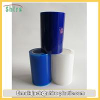 China Blue Anti Static Plastic Film Roll , Mobile Phone Protection Film Dust Proof on sale