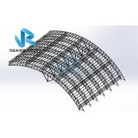 China Wind Resistance Roof Prefabricated Steel Structure Steel Frame Construction on sale