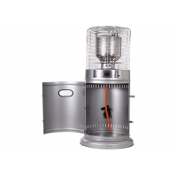 Best Outdoor free standing Stainless Steel Silver Gas Small Propane Patio Heater wholesale