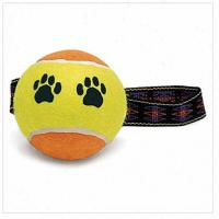 Best 2.5inch pet tennis ball with rope string wholesale